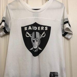 Tops - Oakland Raiders jersey style T-shirt